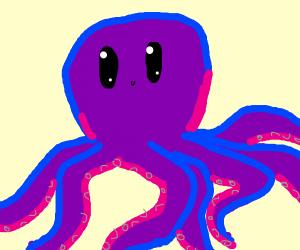 Purple septapus! :D