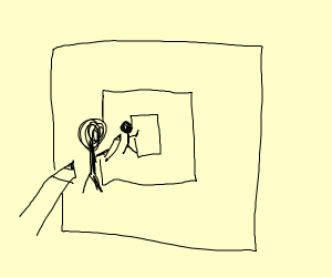 drawing of drawing of a drawing of a drawing