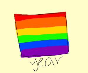 It's pride year!