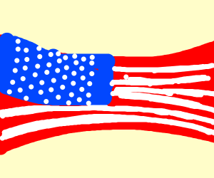 Stretched Flag