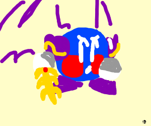 Meta Knight without his mask