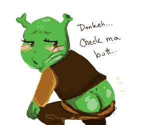 """""""Donkey, check my butt"""" Shreck"""