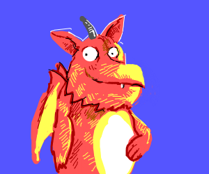 gruffalo dragon