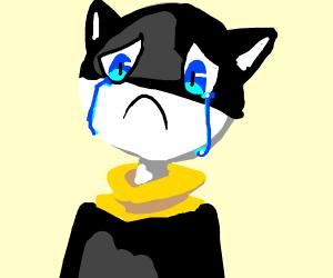 Morgana crying