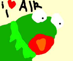 Kermit the Frog loves air