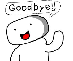 theodd1isout saying goodbye