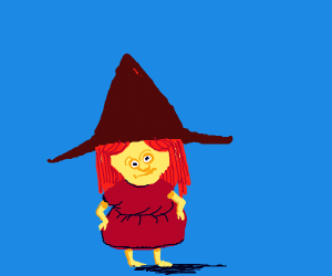 Cute Lil Witch