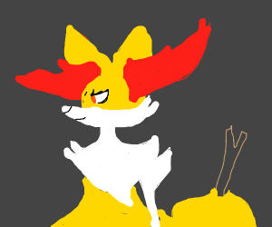 Braixen is a witch