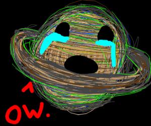 Saturn in pain