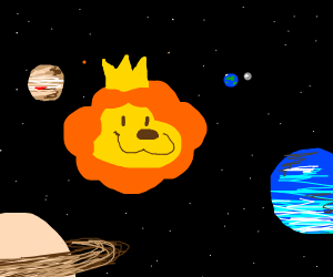 lion king in space