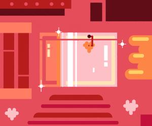 Shiny pink... box?