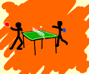 table tennis but square