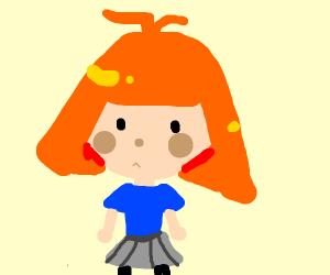 missy elliot with orange hair