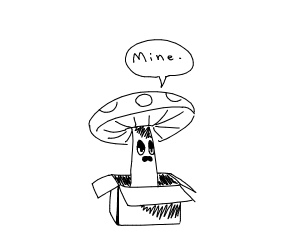 Mushroom claims a empty block as his