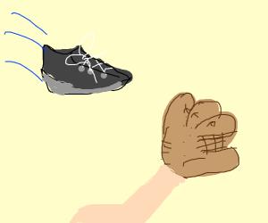 Catching a Shoe