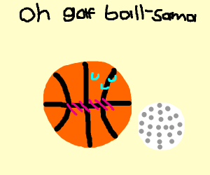 Sweaty Basketball