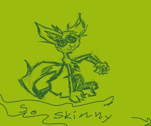 skinny cat!