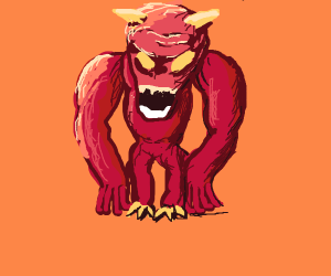 Pinky(the demon from Doom)
