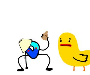 D parties with ducks