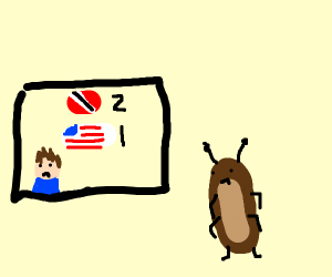 Breaking News: America has lost, bugs are sad