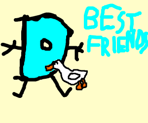 Drawception and a Duck become best friends