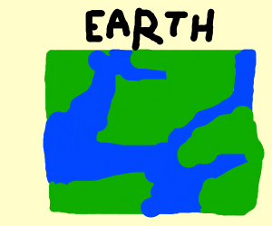 Earth is a square