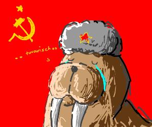 communist walrus