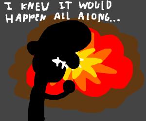 anticipated explosion