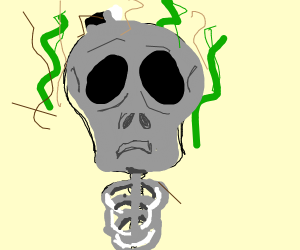 Stinky Skeleton
