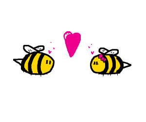 bumblebee in love
