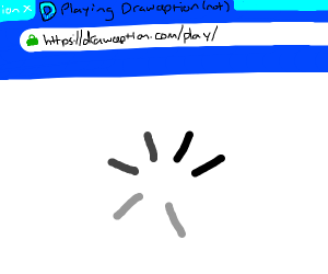Drawception server is down