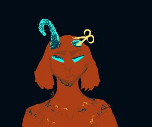 the devil got his horns cut off