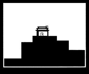 house ontop of a mountain