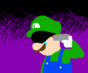 Depressed Luigi