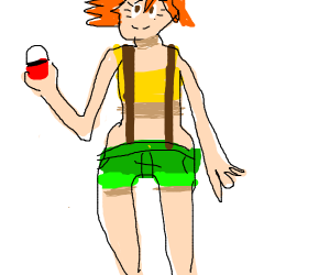 misty (from the pokemon anime)