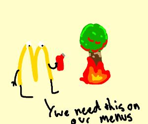 mc donald fries family tree