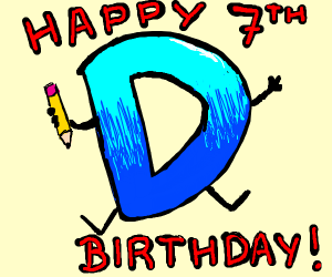 Happy 7th Anniversary Drawception!