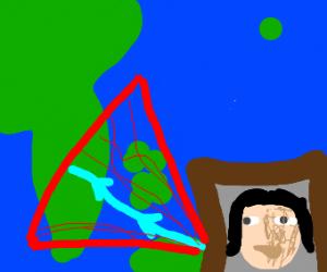 Picture of Hurricane Dorian Grey