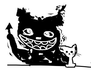 Cute kitty will murder you