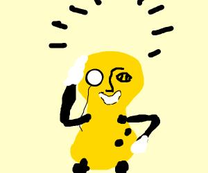 Mr peanut no hat