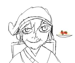Link found some spaghetti