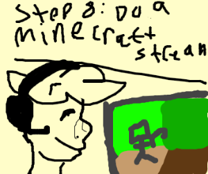 Step 7: get the most famous Minecraft player