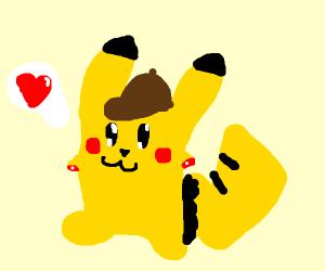 Detective pikachu lost limbs, still cute :3