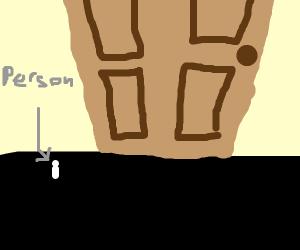 Gigantic Door