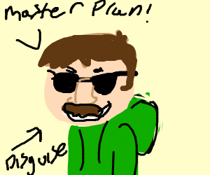 edd from eddsworld disguises himself