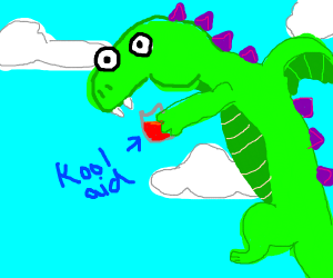 Dragon drinklong koolaid