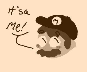 Chocolate Mario
