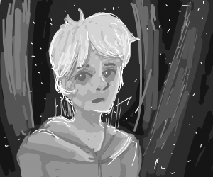 Jack Frost on a gloomy day