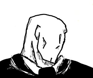if slenderman had a face