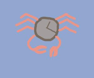 Clock-crab hybrid